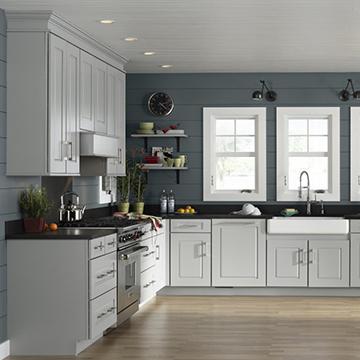 Assembled Kitchen Cabinets