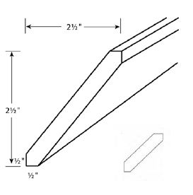 Angle Crown Moulding