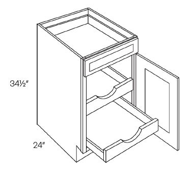 Single Door & Drawer Base Cabinets With 2 POS