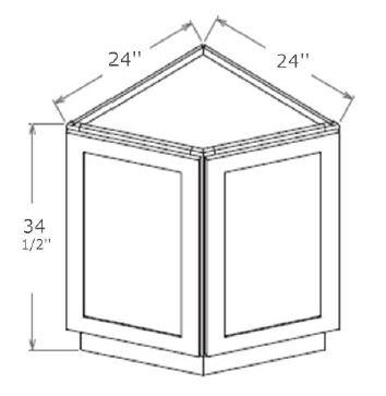 Base End Cabinet