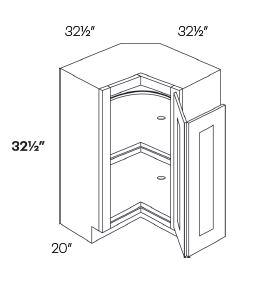 Lazy Susan Corner Base Cabinets-HA