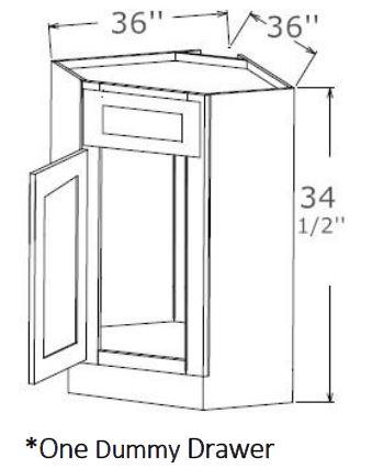 Corner Sink Base
