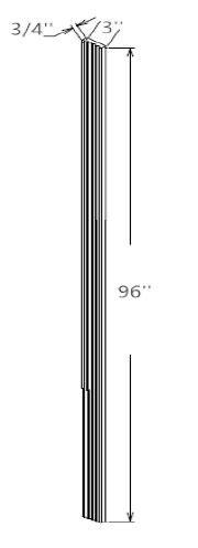 Tall Fluted Filler
