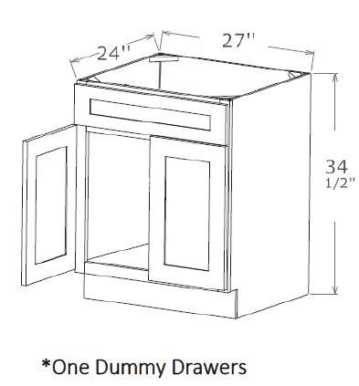 Sink Base-One Dummy Drawer