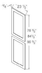 Tall Decorative Door Panel